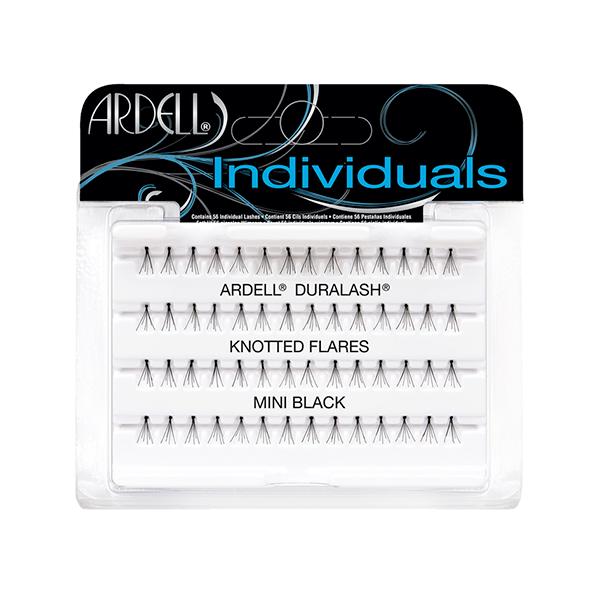 Duralash Individuals- Ciglia a ciuffetto naturali CON NODI (mini nere)
