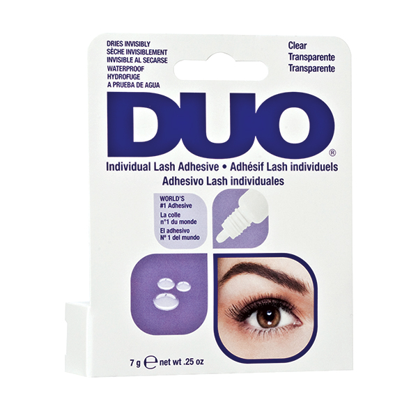 DUO Individual Lash Adhesive Clear in dropper bottle (trasparente-contagocce) for Individual 7gr