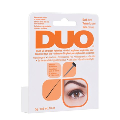 DUO Brush On Dark Adhesive with Vitamins (nera-pennellino) 5gr