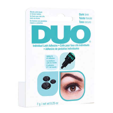 DUO Individual Lash Adhesive Dark in dropper bottle (nera-contagocce) for Individual 7gr