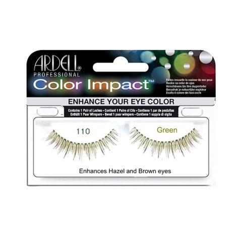 COLOR IMPACT (Ciglia colorate) -110 Verde