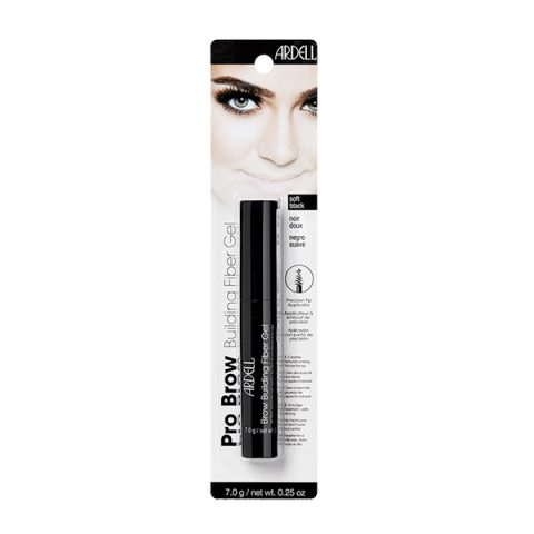BROW Building Fiber Gel -soft black (nero chiaro) 7,0gr